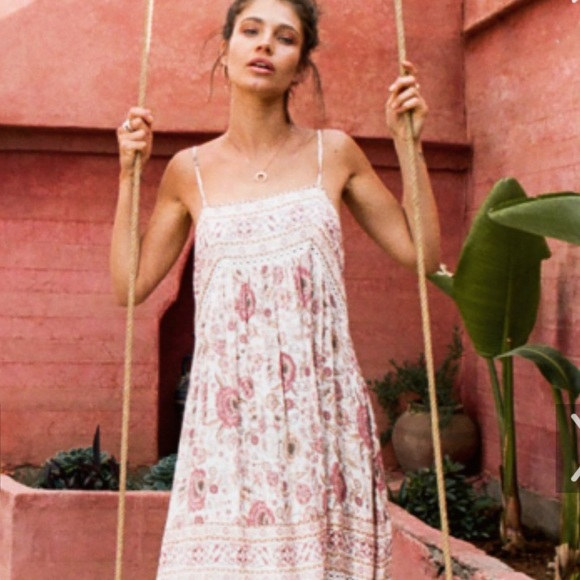 bb2a0ea51 Spell & The Gypsy Collective Dresses | Spell Zahara Midi Gown In ...